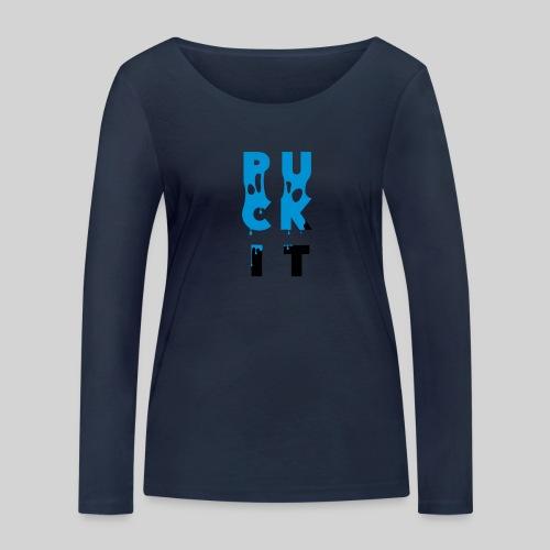 PUCK IT - Frauen Bio-Langarmshirt von Stanley & Stella