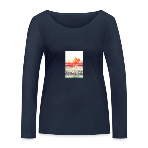sunset surf jpg - Women's Organic Longsleeve Shirt by Stanley & Stella