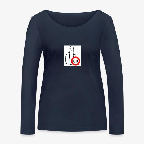 Doigt Coeur - T-shirt manches longues bio Stanley & Stella Femme