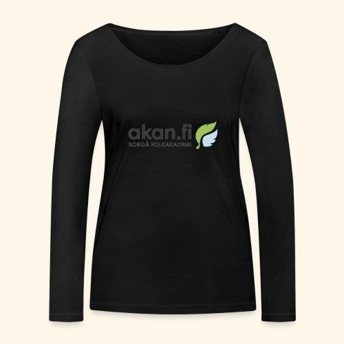 Akan Black - Ekologisk långärmad T-shirt dam från Stanley & Stella