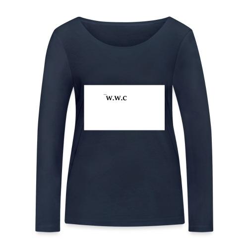 White Wolf Clothing - Økologisk Stanley & Stella langærmet T-shirt til damer