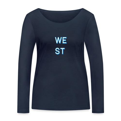 WEST LOGO - Maglietta a manica lunga ecologica da donna di Stanley & Stella