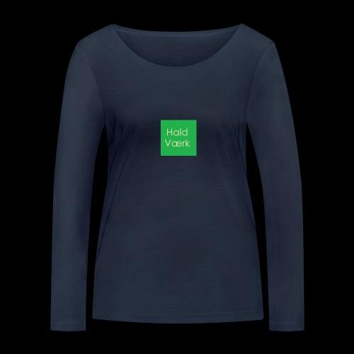 Haldværk - Økologisk Stanley & Stella langærmet T-shirt til damer