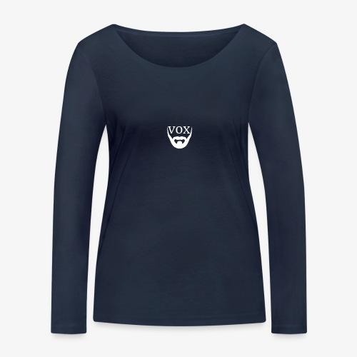 Logo Vox Bianco - Maglietta a manica lunga ecologica da donna di Stanley & Stella