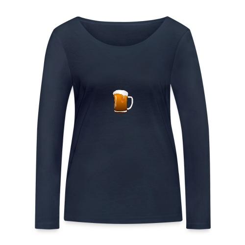 Bier - Frauen Bio-Langarmshirt von Stanley & Stella