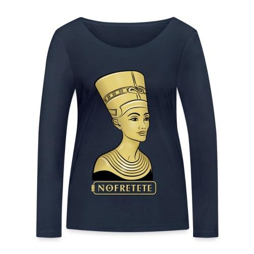 Nofretete I Königin von Ägypten - Frauen Bio-Langarmshirt von Stanley & Stella