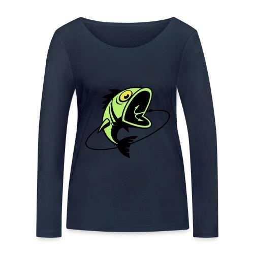 VL107B_BigFish_3c - Frauen Bio-Langarmshirt von Stanley & Stella