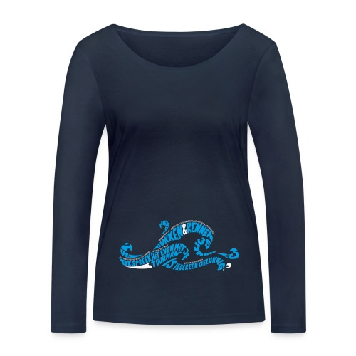 EZS T shirt 2013 Front - Vrouwen bio shirt met lange mouwen van Stanley & Stella