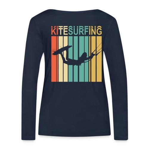 Kitesurfing - T-shirt manches longues bio Stanley & Stella Femme