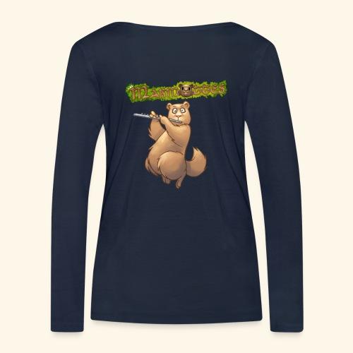 Tshirt Flute dos 2 - T-shirt manches longues bio Stanley & Stella Femme