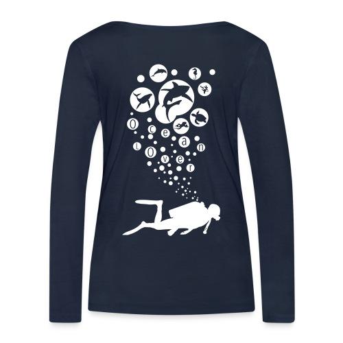 The Scuba Diver - Le plongeur - T-shirt manches longues bio Stanley & Stella Femme