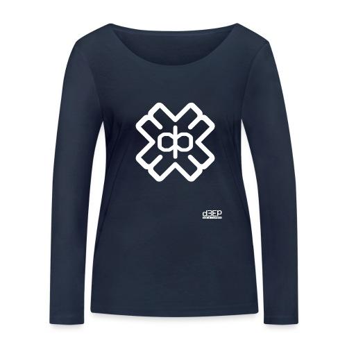 d3eplogowhite - Women's Organic Longsleeve Shirt by Stanley & Stella