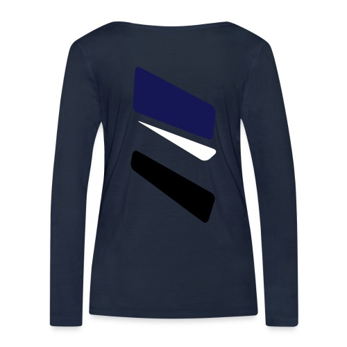 3 strikes triangle - Women's Organic Longsleeve Shirt by Stanley & Stella