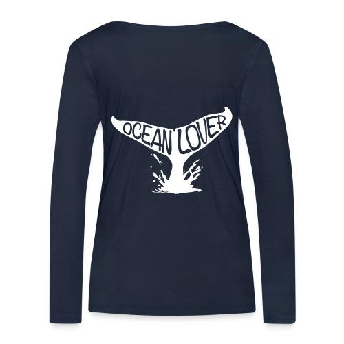 The Whale - La Baleine - T-shirt manches longues bio Stanley & Stella Femme