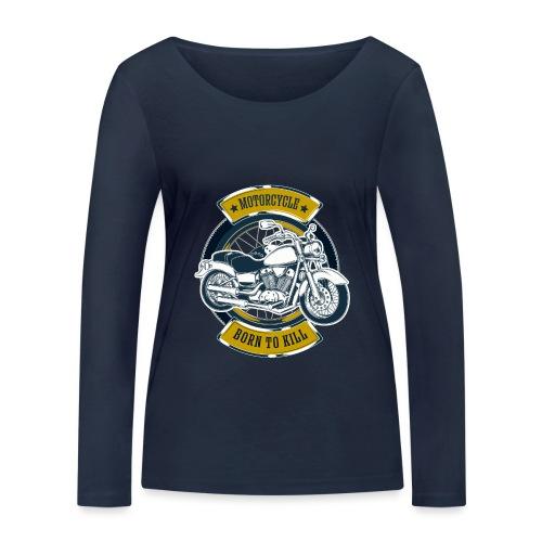 Motorcycle5 - Camiseta de manga larga ecológica mujer de Stanley & Stella