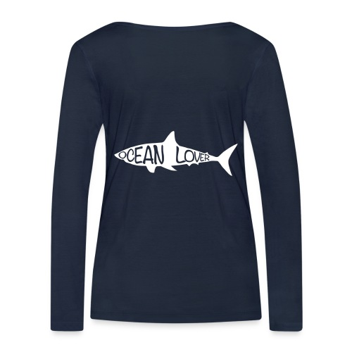 The Shark - Le Requin - T-shirt manches longues bio Stanley & Stella Femme