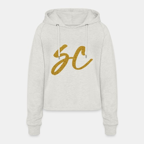 GOLD - Women's Cropped Hoodie