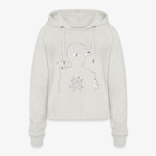 9 Tails Seal - Women's Cropped Hoodie