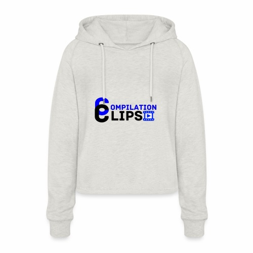 Official CompilationClips - Women's Cropped Hoodie