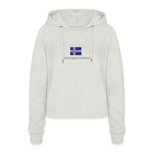 Iceland - Women's Cropped Hoodie