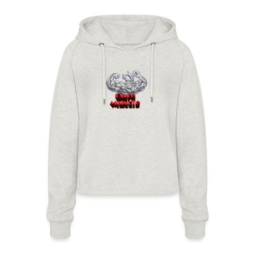 Pure Muscle BestFitness - Sudadera cropped con capucha