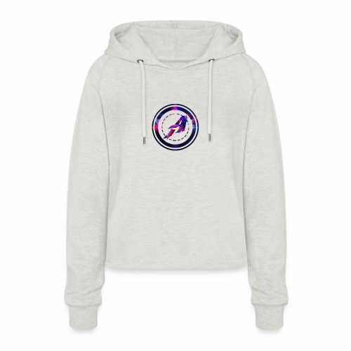 Limited Edition Logo - Frauen Cropped Hoodie