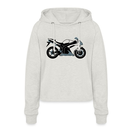R1 07-on V2 - Women's Cropped Hoodie