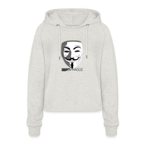 Anonymous - Women's Cropped Hoodie