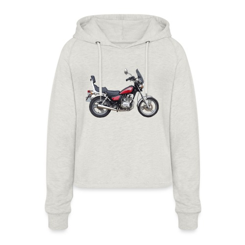 snm daelim vc 125 f advace seite rechts ohne - Frauen Cropped Hoodie