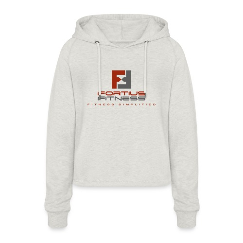 Fortius Fitness - Cropped hoodie til damer
