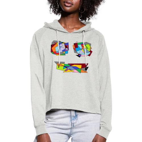 TheFace - Frauen Cropped Hoodie