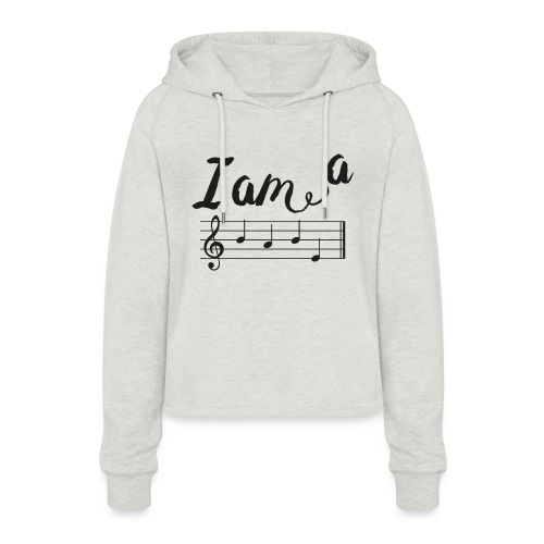 ImABabe - Vrouwen Cropped Hoodie