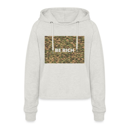 ARMY TINT - Vrouwen Cropped Hoodie
