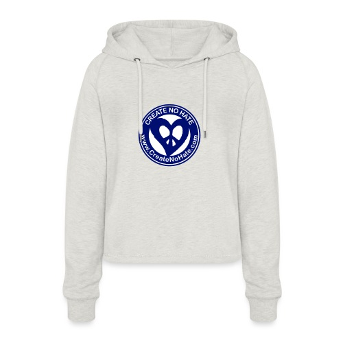 THIS IS THE BLUE CNH LOGO - Women's Cropped Hoodie