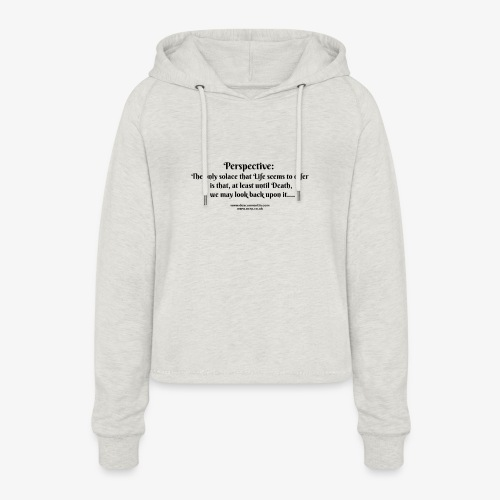 perspective T - Women's Cropped Hoodie
