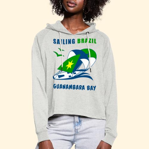 Sailing Brazil - Women's Cropped Hoodie