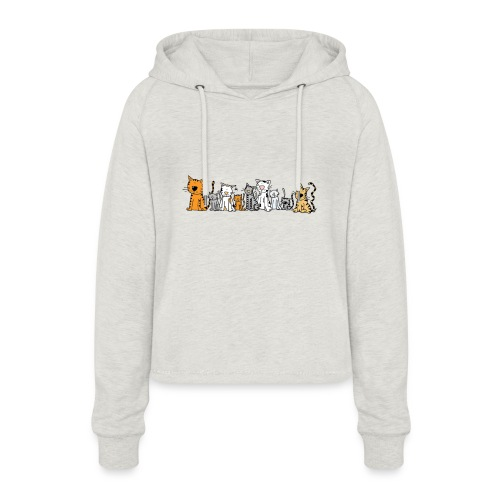 Cats & Cats - Vrouwen Cropped Hoodie