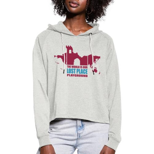 Lost Place - 2colors - 2011 - Frauen Cropped Hoodie