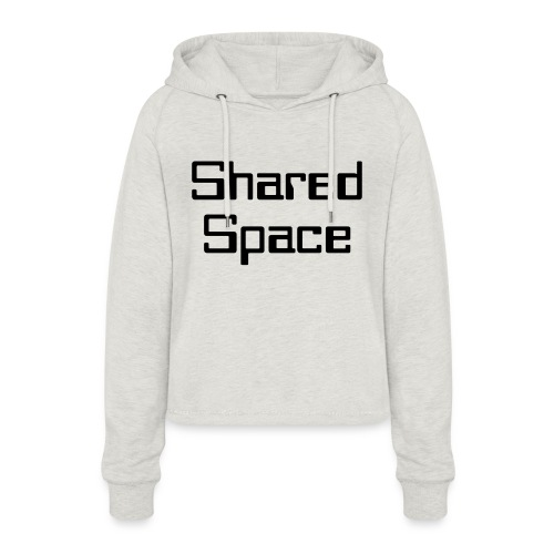 Shared Space - Frauen Cropped Hoodie