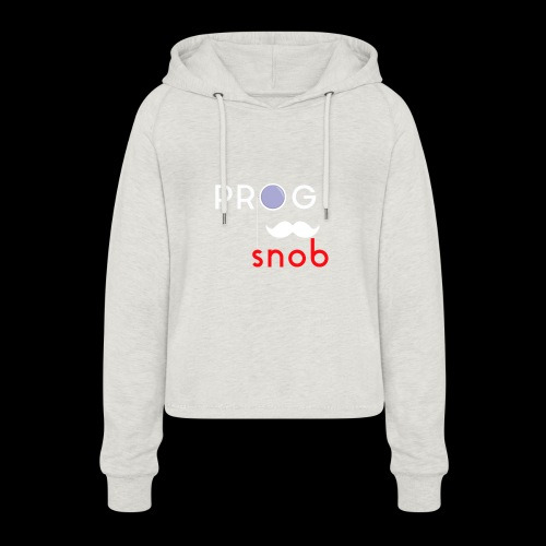 NUOVO3 png - Women's Cropped Hoodie