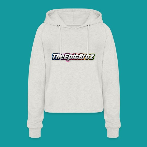 TheEpicBroz - Vrouwen Cropped Hoodie