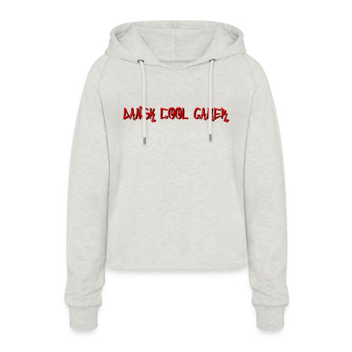 Dansk cool Gamer - Cropped hoodie til damer