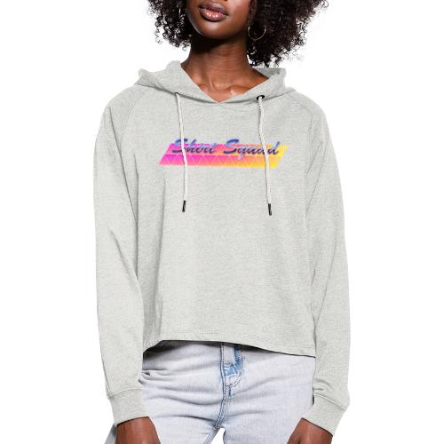 80's Shirt Squad - Women's Cropped Hoodie