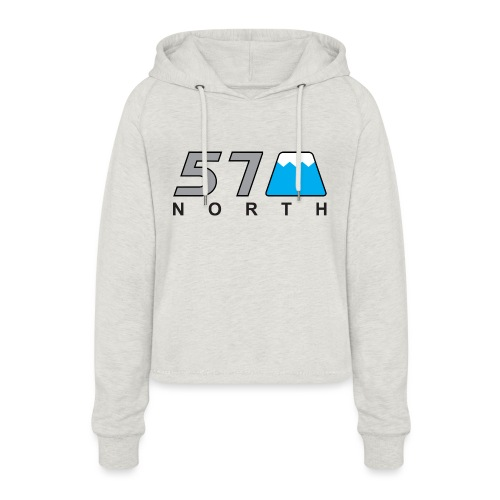 57 North - Women's Cropped Hoodie