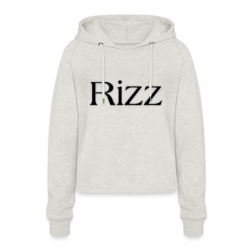 cooltext193349288311684 - Women's Cropped Hoodie