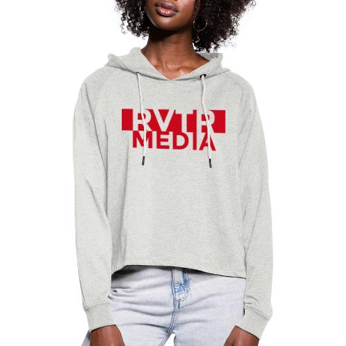 RVTR media red - Frauen Cropped Hoodie