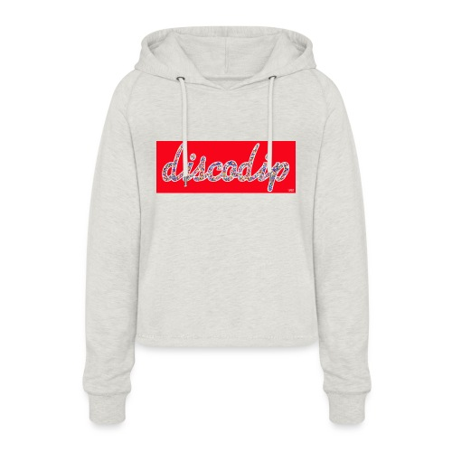 DISCODIP - Vrouwen Cropped Hoodie