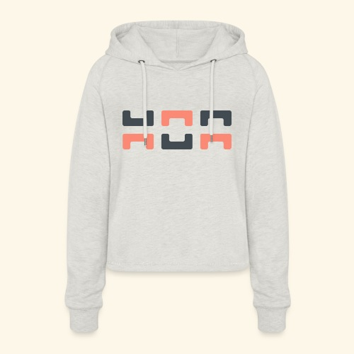 Angry elephant - Women's Cropped Hoodie