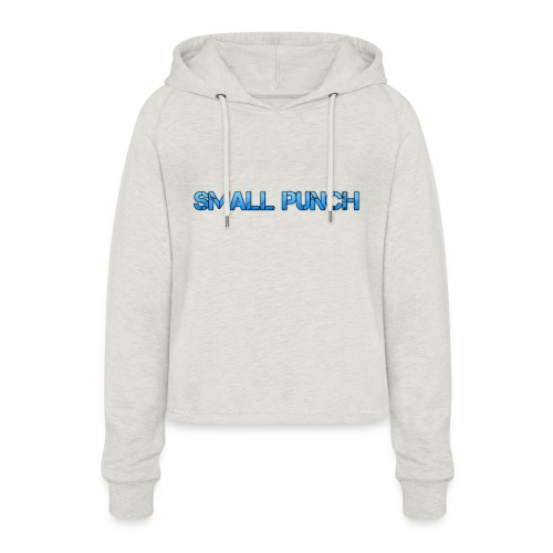 small punch merch - Women's Cropped Hoodie