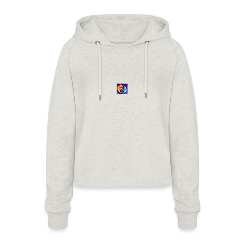 The flame - Women's Cropped Hoodie
